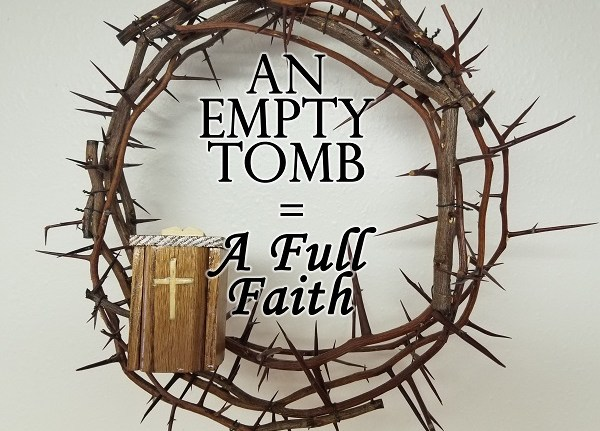 The Wandering Pulpit – An Empty Tomb = Full of Faith
