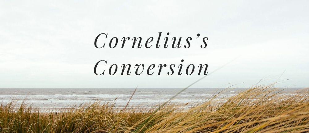 Cornelius's Conversion