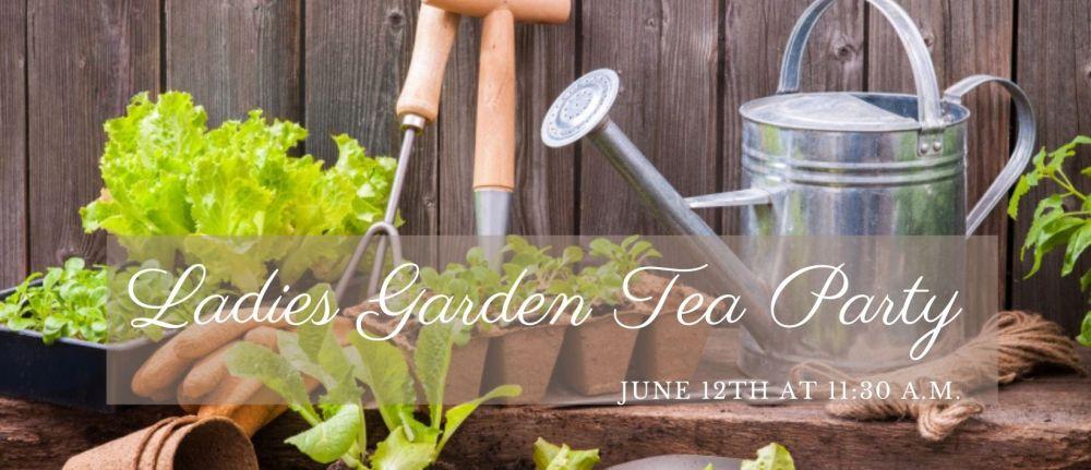 Ladies Garden Tea Party