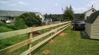 Wood Rail Fencing - Snyders Custom Fencing