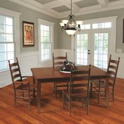 Mission Chairs For Sale Brown Bean Bag Chair Shaker Amish Dining Table In Lancaster County Pa | Self Storing Or Extension Style