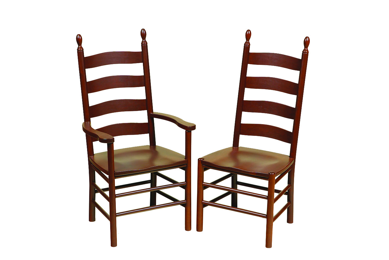 shaker ladder back chair bouncy chairs for adults amish dining in lancaster county pa