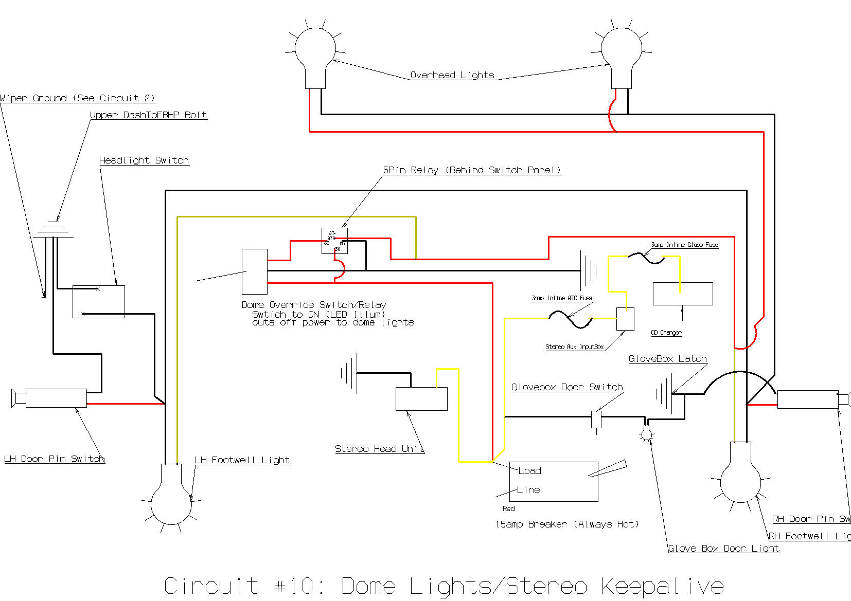 car dome light wiring diagram 2007 ford fusion radio 2008 dodge trailer lighting