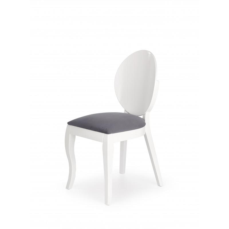 Simple Chaise Mdaillon Blanche Moderne Vilta Chaise