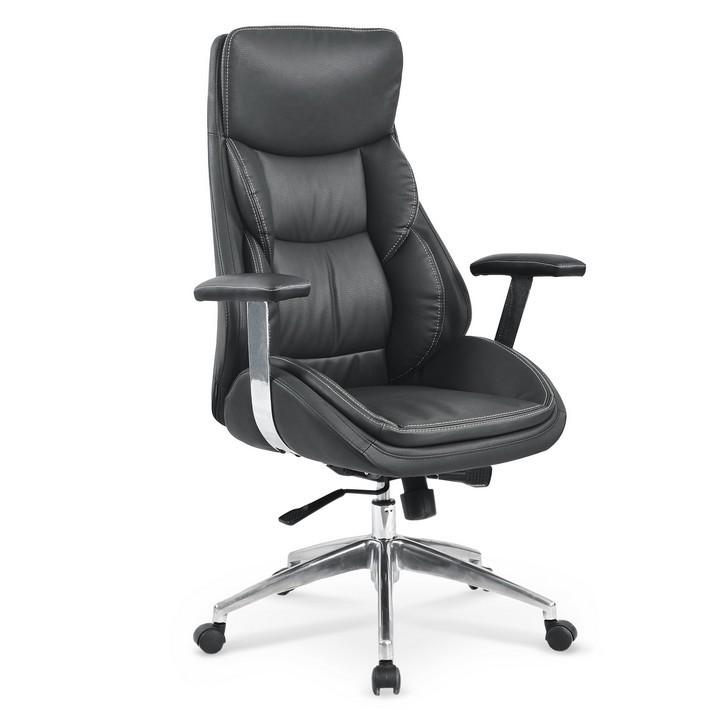 fauteuil de bureau design confort noir nessa