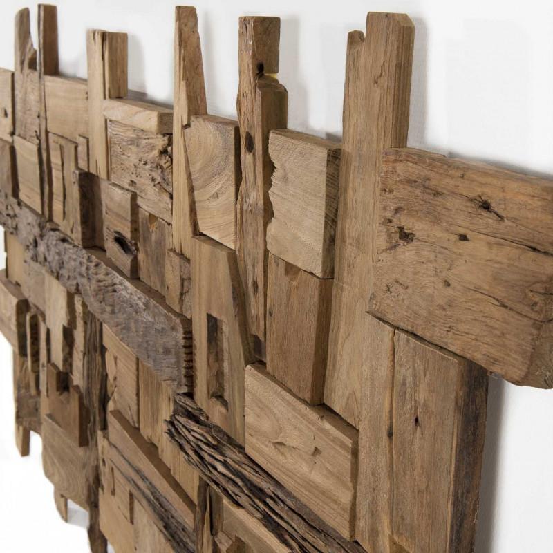 deco murale naturelle bois flotte rectangulaire elias