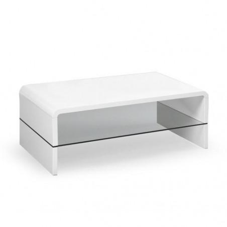 table basse blanc laque altara