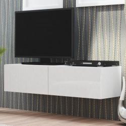 meubles tv a poser ou suspendu style