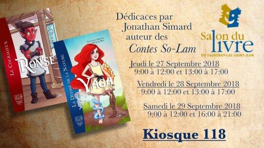 Bannière salon du livre du Saguenay-Lac-Saint-Jean