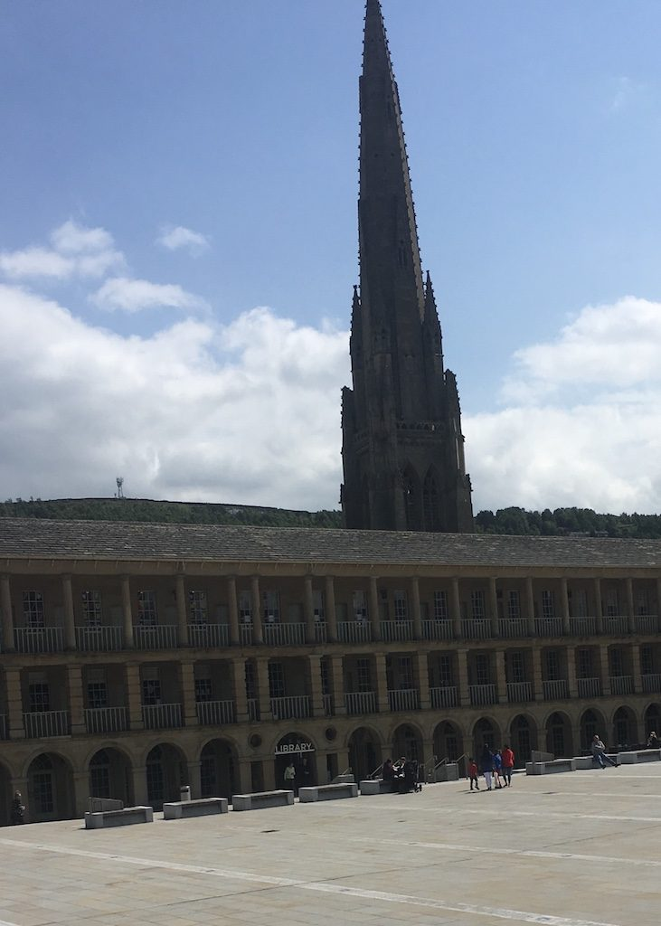 The Piece Hall in Halifax West Yorkshire, where cloth was bought in 'pieces'. Gentleman Jack may have visited here.