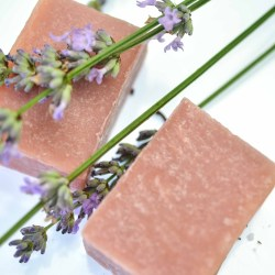 Handmade Natural Soap Lavender & Lemongrass. Vegan Friendly
