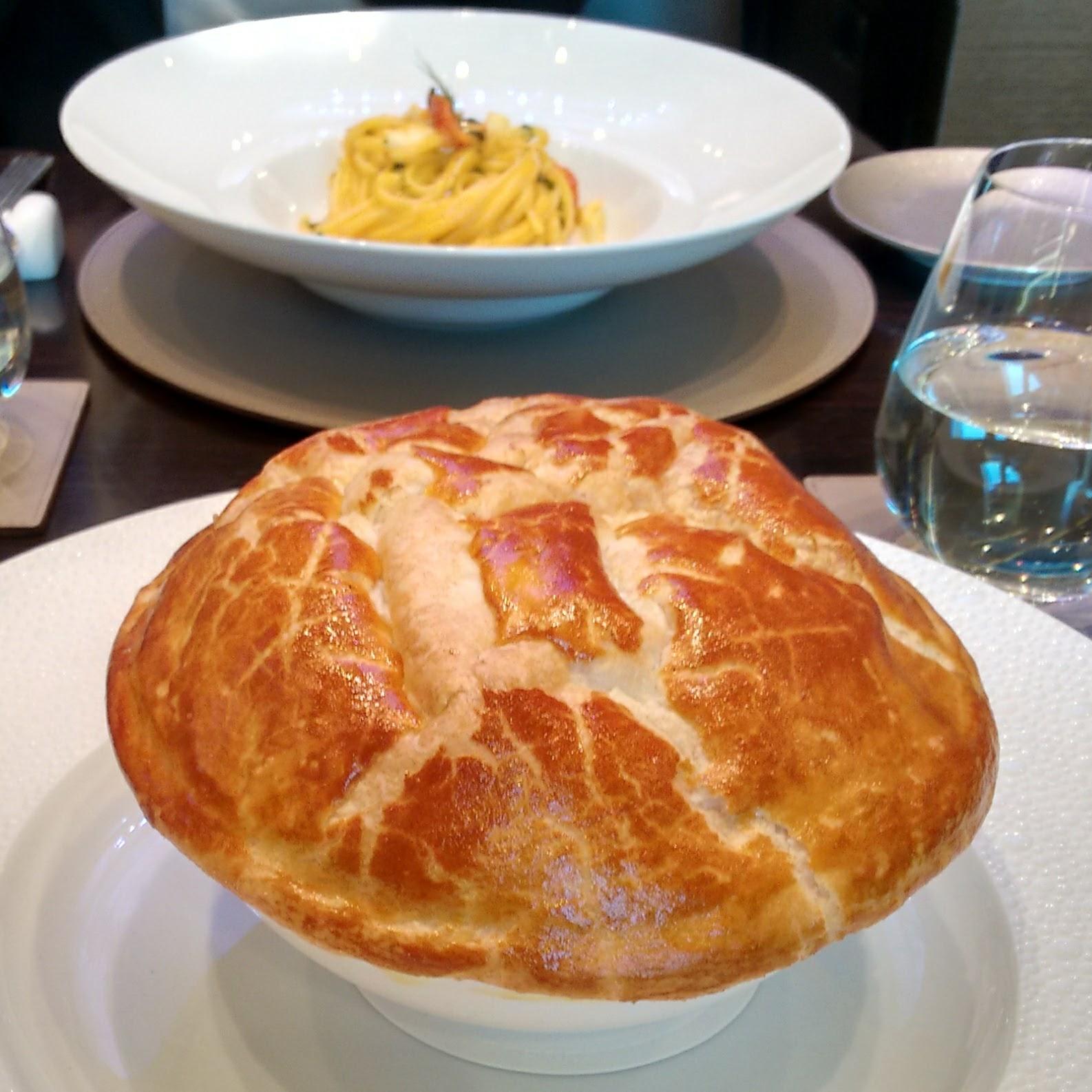 Business lunch  Terrazza Gallia  Soapmotion