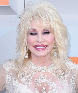 LAS VEGAS, NEVADA - APRIL 03: Recording artist and ACM Award Honoree Dolly Parton attends the 51st Academy Of Country Music Awards at MGM Grand Garden Arena on April 3, 2016 in Las Vegas, Nevada. (Photo by C Flanigan/FilmMagic)