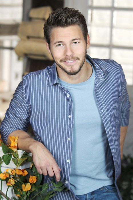 """""""The Bold and the Beautiful"""" Set with Scott Clifton"""