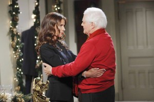 "Kristian Alfonso, Bill Hayes ""Days of our Lives"" Set NBC Studios Burbank 07/31/15 © Howard Wise/jpistudios.com 310-657-9661 Episode # 12745 U.S.Airdate 12/24/15"