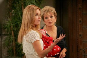 "Susan Seaforth Hayes, Tracey Bregman ""The Young and the Restless"" Set CBS Television City Los Angeles 11/9/06 ©Aaron Montgomery/jpistudios.com 310-657-9661 Episode #8543"