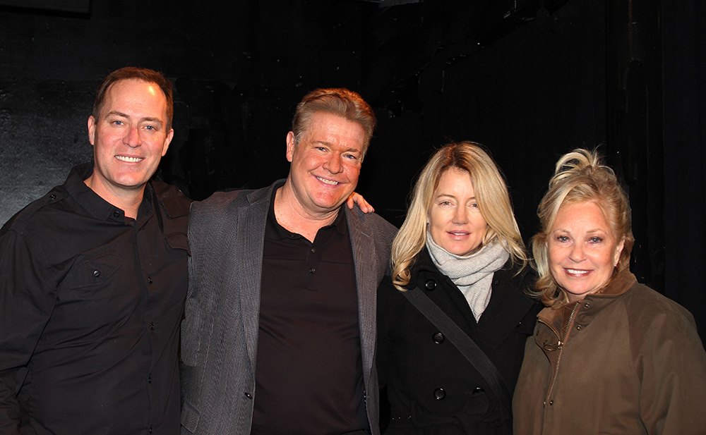 Breathing Under Dirt - A New Play by Guiding Light's Michael O'Leary and directed by Larry Moss in an industry reading on January 24, 2017 at Cherry Lane Theater, New York City, New York. Starring Michael O'Leary, Cynthia Watros, Tina Sloan, Robert Bogue,