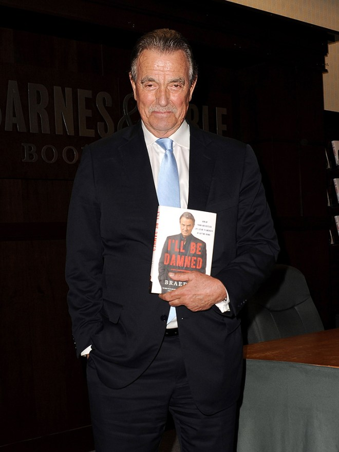 Eric Braeden 'I'll Be Damned' Book Signing