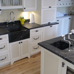 Soapstone Kitchen Kraftmaid Cabinets Wood Heaters Stoves Countertops And Sink