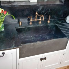 Soapstone Kitchen Countertops 2 Seat Table The California Sink Gallery By Werks