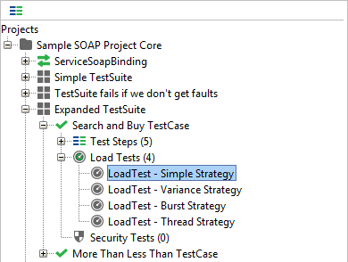 Load test - Simple strategy