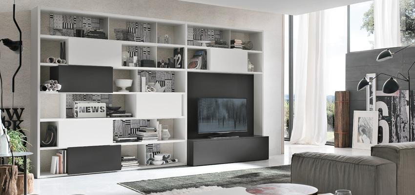 Negozio Arredamento Verona Arredare il soggiorno in black