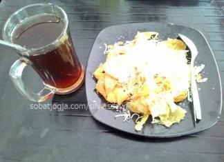 Roti Cane Keju Gula ala Bungong