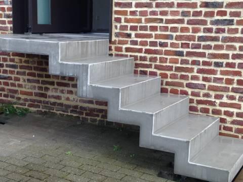 Nos Escaliers Exterieurs En Beton Sobemo Sobedal