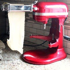 Kitchen Aid Pasta Mixer Bowls How To Make Homemade With Kitchenaid Sober Julie Press2
