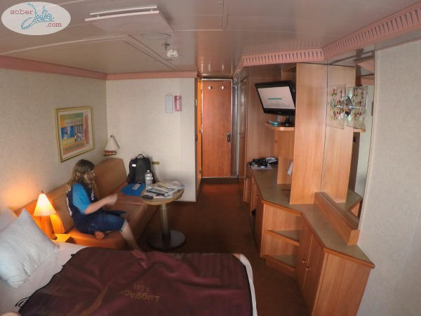 the dump sofa table cleaner s carnival cruise liberty ship balcony cabin