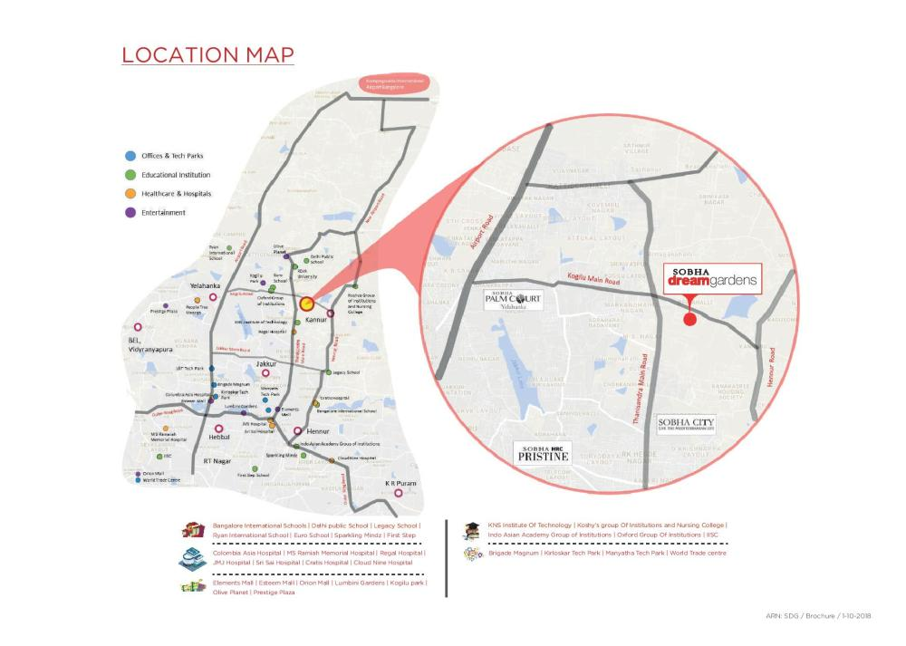 medium resolution of located in bangalore s next residential hub with easy access to all major facilities