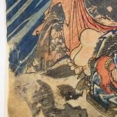 一勇斎国芳/「通俗水滸伝豪傑百八人之一個」「船火児張横」/ICHIYUSAI KUNIYOSHI