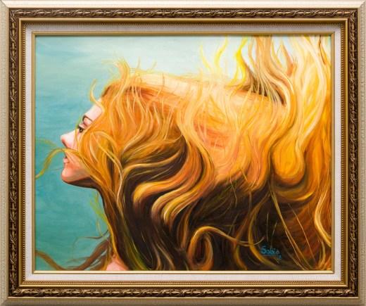 Sobia Shuaib Breathe 16x20 Framed