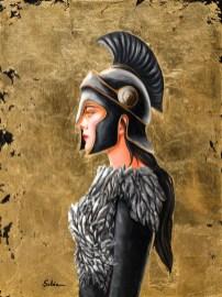 The Warrior Princess - 16x20