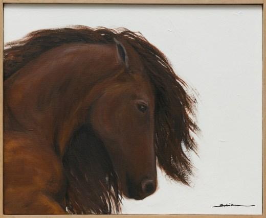 Sobia Shuaib - Clay 16x20 framed