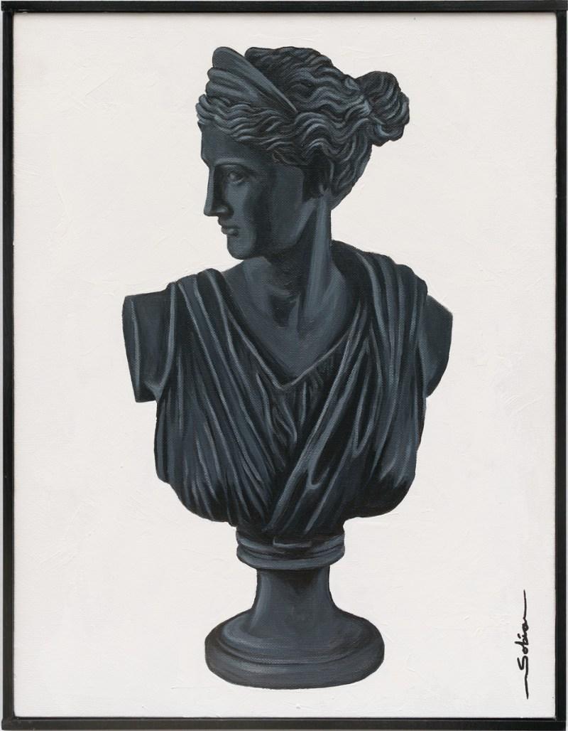 Sobia Shuaib - Diana of Versailles 14x18