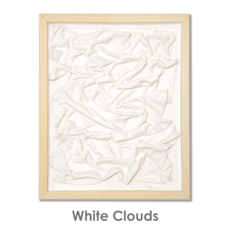 Sobia Shuaib - White Clouds 8.75x10.75