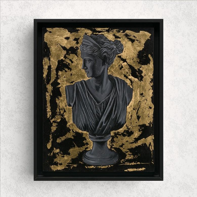 Sobia Shuaib - Queen's Gambit 14x18 wall