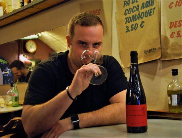 Cata del vino Saumur Champigny Domain Des Roches Neuves Thierry Germain 2015
