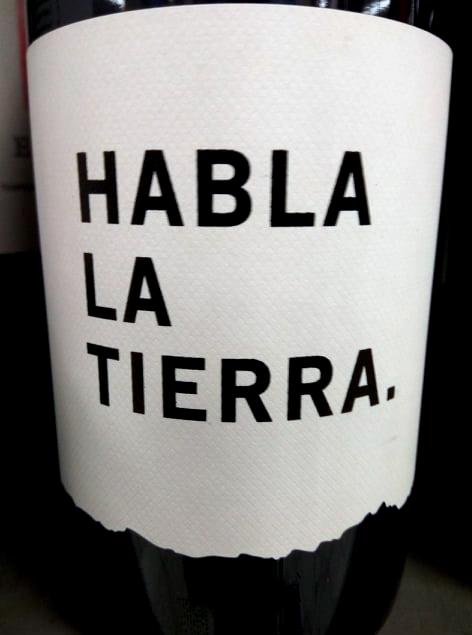 Cata Del Vino Habla La Tierra 2016 Vt De Extremadura Sobrelias