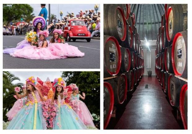 Madeira celebra la Fiesta de la Flor y del Vino
