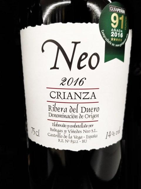Neo Crianza 2016