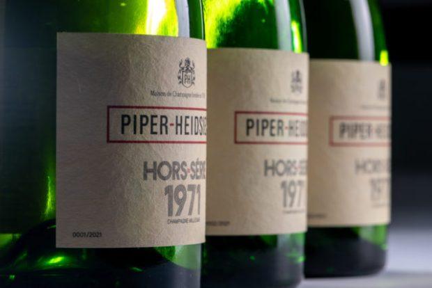 Piper-Heidsieck presenta su champagne vintage