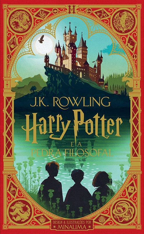 Harry Potter e a Pedra Filosofal - J. K. Rowling [CAPA]