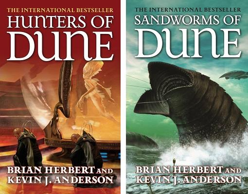 Hunters of Dune + Sandworms of Dune