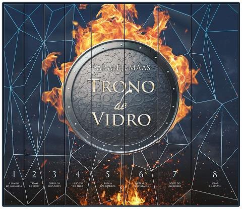 Box Trono de Vidro - Sarah J. Maas