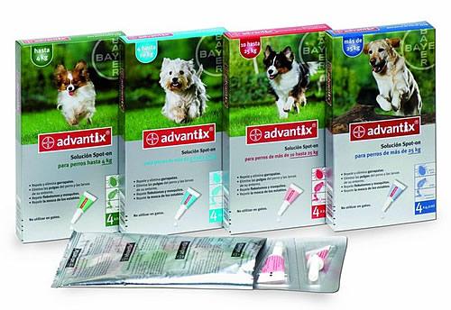 Cuidado de mascotas-Advantix