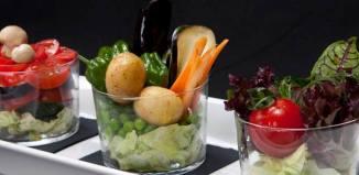 disfruta y verdura dieta rica