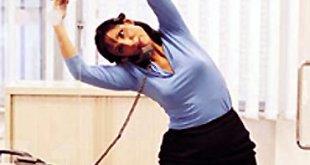 Ejercicios en la oficina para mujeres