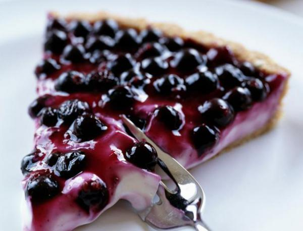 Cheescake con Blueberry